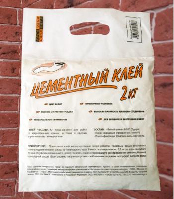 Клей цементный белый, 2 кг